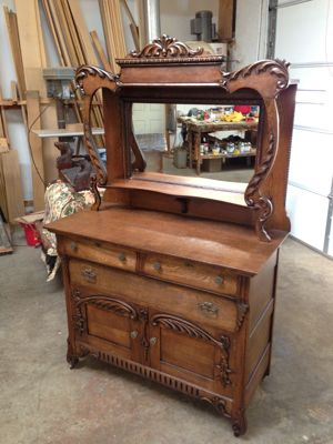 Oak Antique Buffet